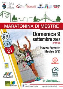 Maratonina di Mestre 2018