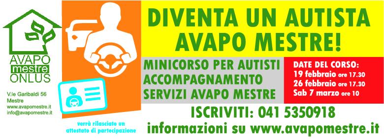 Corso per autisti Avapo